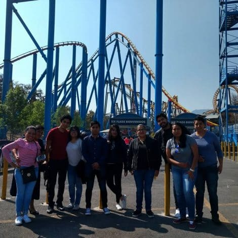 Nos fuimos a Six Flags – 104.9 FM